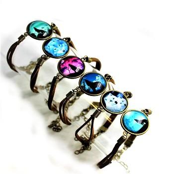 wolf bracelets