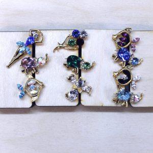 swarovski pins